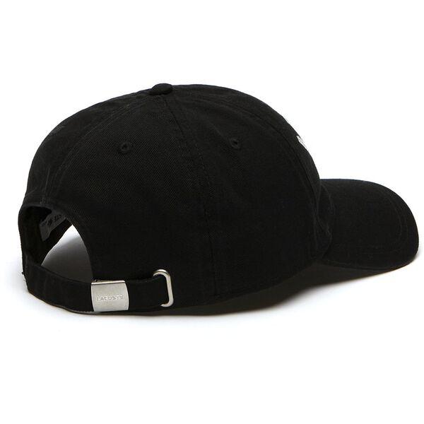 MEN'S FAIRPLAY COTTON GABARDINE CAP, BLACK, hi-res