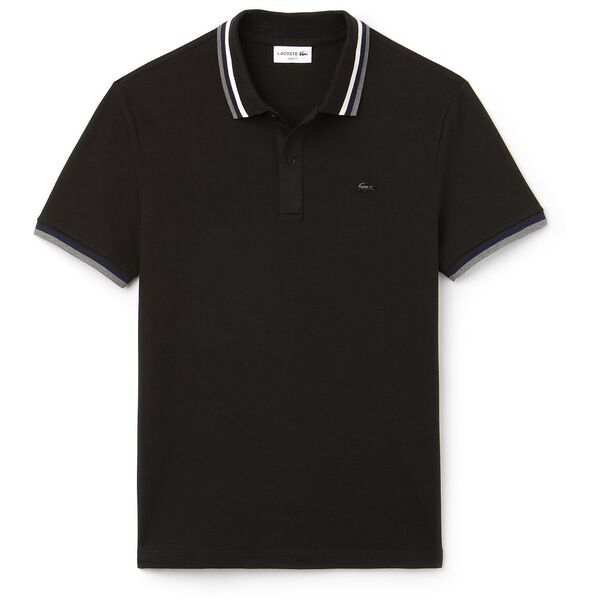 MEN'S SLIM STRETCH RUBBER CROC POLO, , hi-res