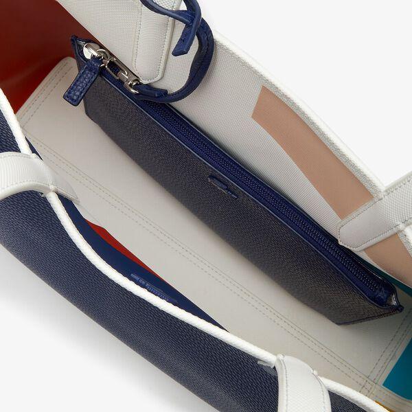Women's Anna Removable Pouch Coloured Design Tote, COLOR BLOC ROBERT GEORGE, hi-res