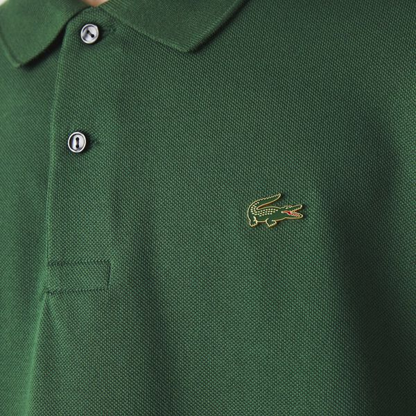 Unisex LIVE Loose Fit Polo, GREEN, hi-res