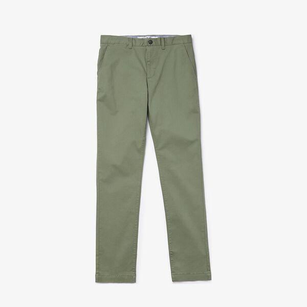 Men's Slim Fit Stretch Gabardine Chino Pants, THYM, hi-res