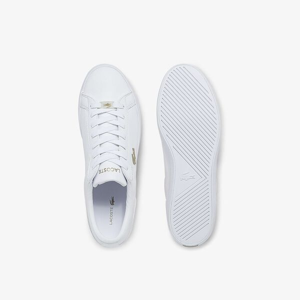 Men's Lerond Sneakers, WHITE/WHITE, hi-res