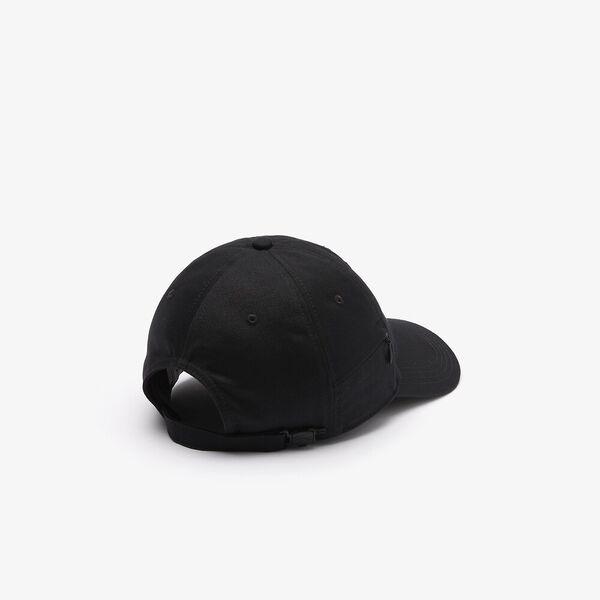 LIVE Lettering Cap, BLACK, hi-res
