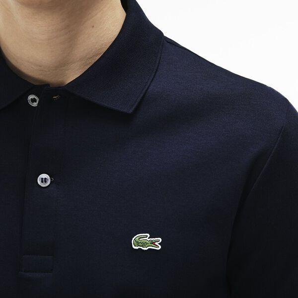 Men's Regular Fit Pima Cotton Polo, NAVY BLUE, hi-res
