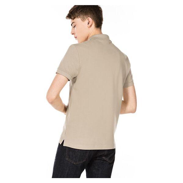 Men's Cotton Piqué Slim Fit Polo, VIENNESE, hi-res