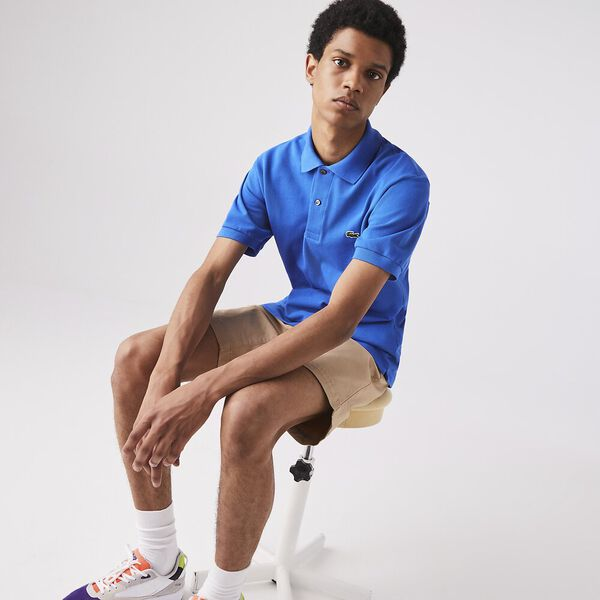 Men's L.12.12 Classic Polo, UTRAMARINE, hi-res