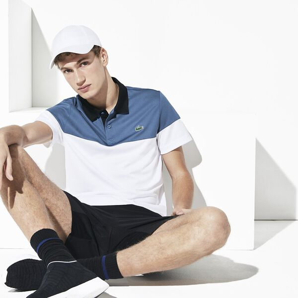 MEN'S COLOUR BLOCK POLO