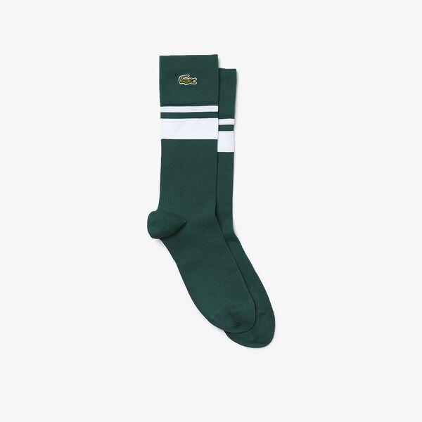 Men's SPORT Compression Zone Striped Socks, SWING/WHITE-SWING-SWING, hi-res