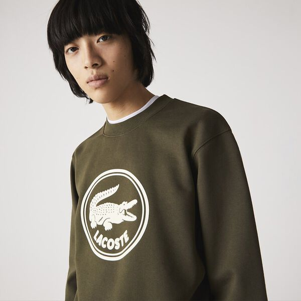 Unisex 3D Logo Organic Cotton Fleece Sweatshirt
