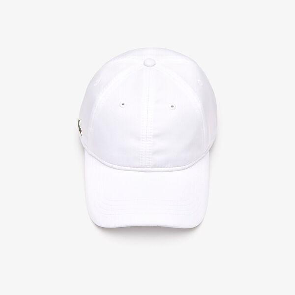 MEN'S BASIC DRY FIT CAP, WHITE, hi-res