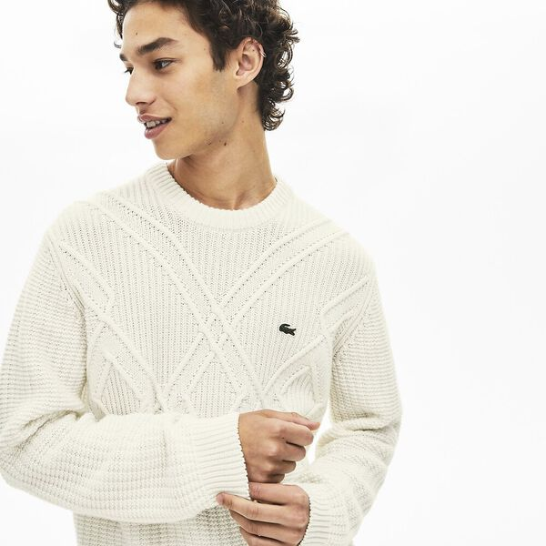 Men's Heritage Mix Stitch Crew Neck Knit