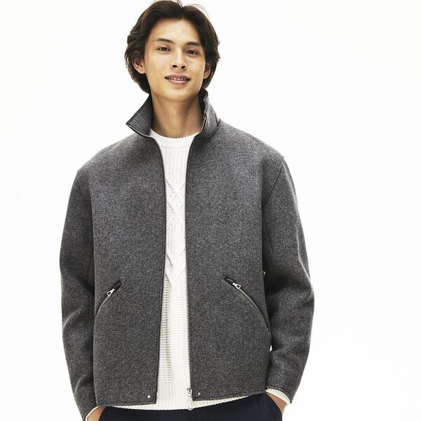 Men's Chic Wool Blend Jacket