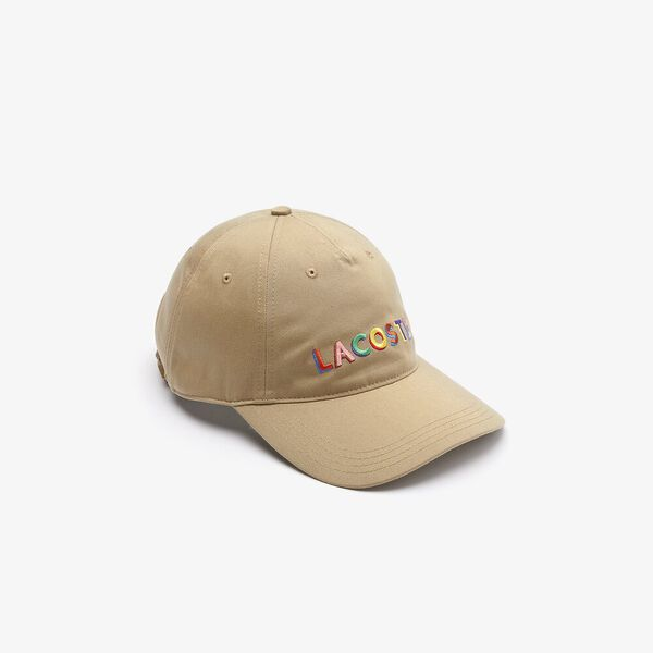 LIVE Embroidered Lettering Cap, VIENNESE, hi-res
