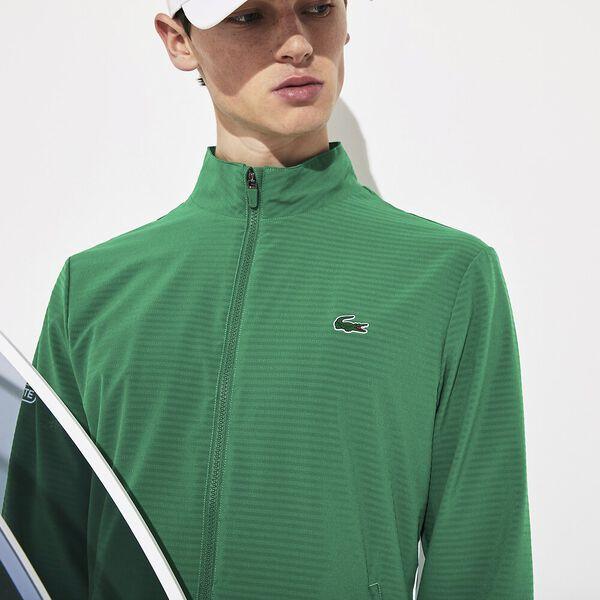 Men's Novak Djokovic  Aus Tralian Open On Court Zip Front Jacket