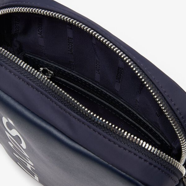 Men's L.12.12 Cuir Medium Vertical Camera Bag, DARK SAPPHIRE, hi-res