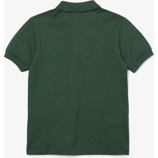Kids' Petit Piqué Shirt, GREEN, hi-res