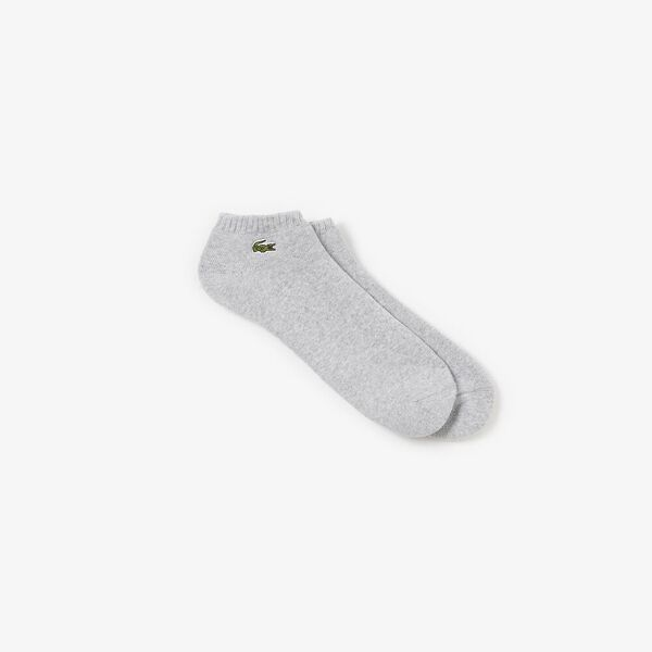 Padded Sport Ankle Socks, SILVER CHINE/WHITE, hi-res