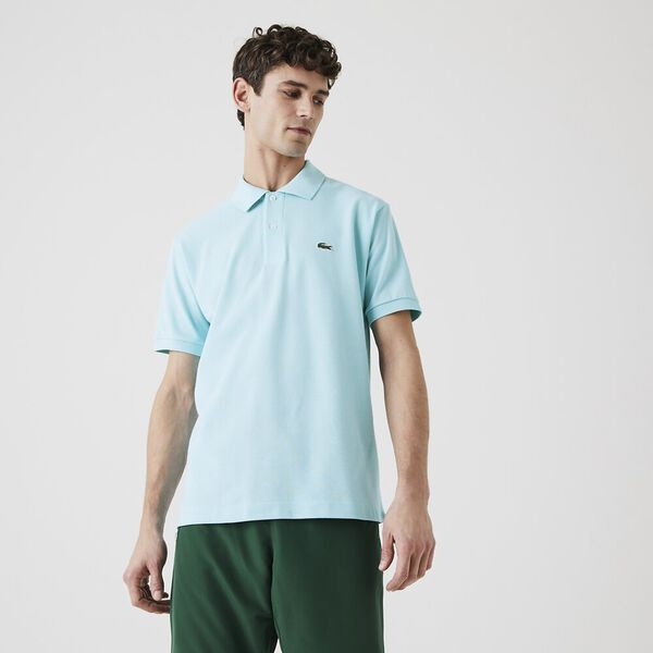 Men's L.12.12 Classic Polo, POND, hi-res