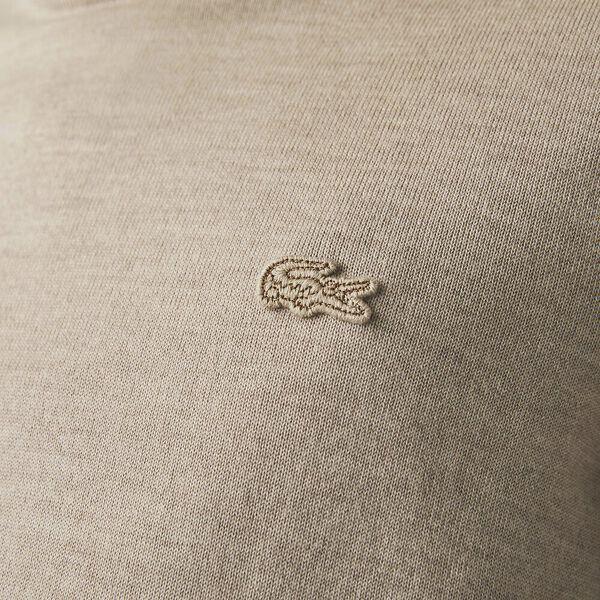 Men's Merino Wool knitted Sweater, GRAVEL HEATHER, hi-res