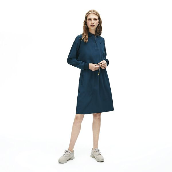 Women's Lacoste Motion Fit & Flare Dress, WHEELWRIGHT, hi-res