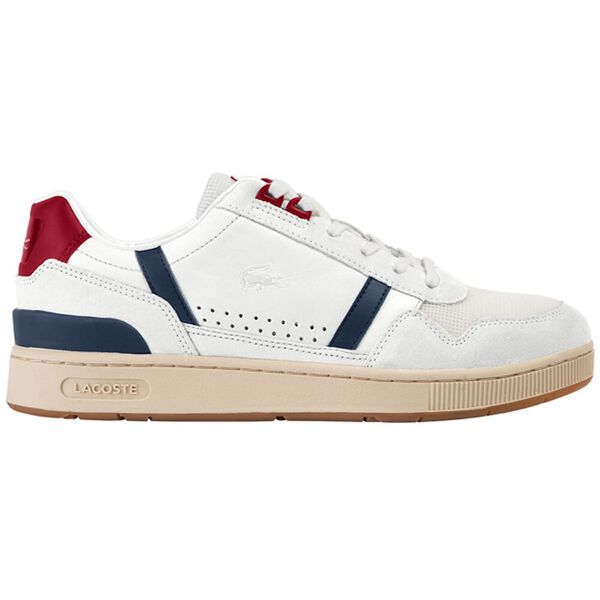 Women's T-Clip 120 2 Us Sneaker, OFF WHITE/NAVY/RED, hi-res