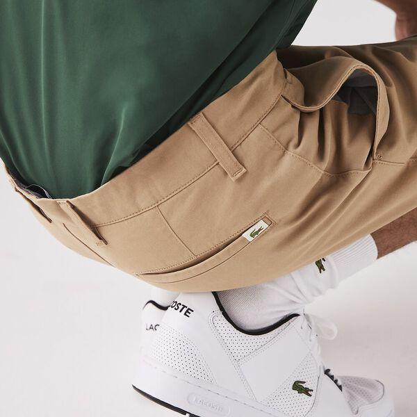 Men's Gabardine Bermuda Shorts, VIENNESE, hi-res