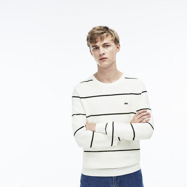 MEN'S NAUTICAL STRIPE KNIT
