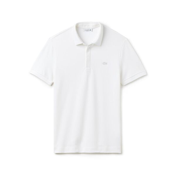 Men's Paris Regular Fit Stretch Polo, WHITE, hi-res