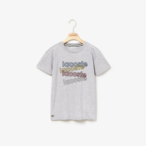 Boy's Athleisure Tee, SILVER CHINE, hi-res