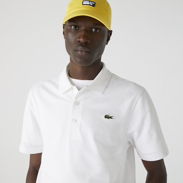 Men's SPORT Tennis regular fit Polo Shirt in ultra-lightweight knit, WHITE, hi-res
