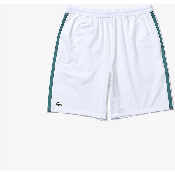 Men's SPORT x Novak Djokovic Breathable Stretch Shorts, WHITE/ALOES, hi-res