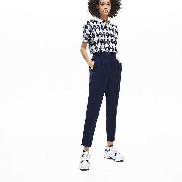 Women's Sporty Neoprene Pant, NAVY BLUE, hi-res