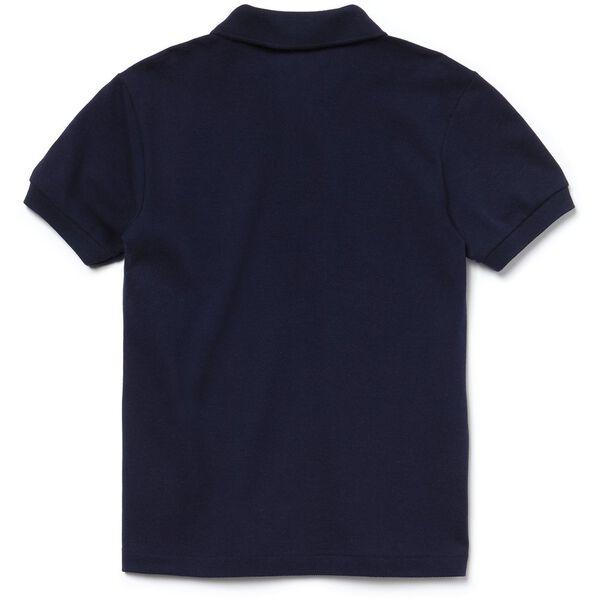 UNISEX KIDS BASIC POLO, NAVY BLUE, hi-res