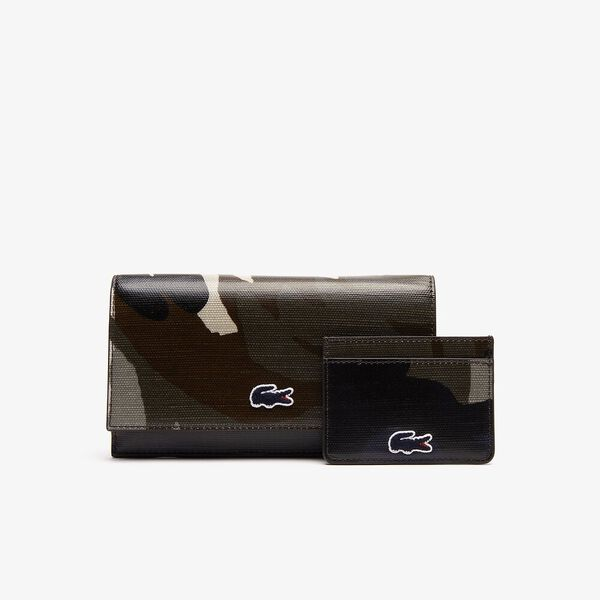 WOMEN'S ROBERT GEORGES SLIM CREDIT CARD HOLDER, ORIGINAL BLUE, hi-res
