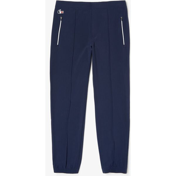 Men's SPORT French Sporting Spirit Water-Resistant Pants, NAVY BLUE/WHITE-RED, hi-res