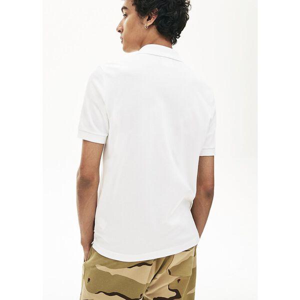 Unisex LIVE Slim Fit Stretch Cotton Piqué Polo, BLANC, hi-res