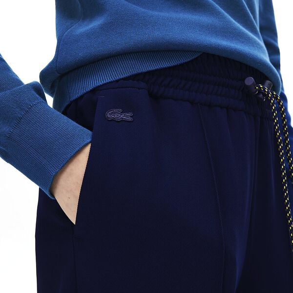 Women's Lacoste Motion Twill Pant, NAVY BLUE, hi-res