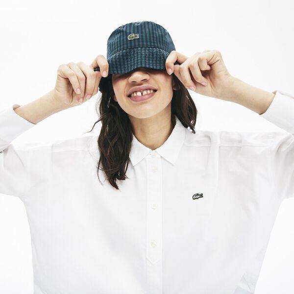 Women's Lacoste LIVE Boxy Fit Cotton Shirt