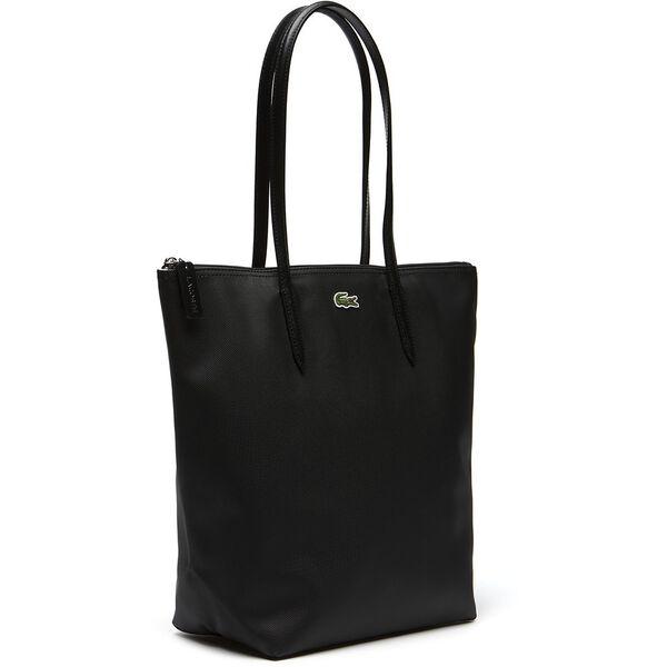 Women's L.12.12 Concept Vertical Zip Tote Bag, BLACK, hi-res