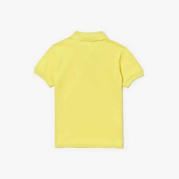 Classic Kids Polo, MIDDAY YELLOW, hi-res
