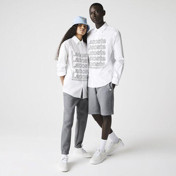 Unisex LIVE Relaxed Fit Print Poplin Shirt