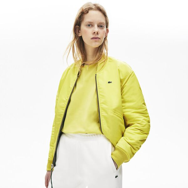 Unisex L!Ive Iconic Nylon Jacket, SERGEANT/MIDDAY YELLOW, hi-res