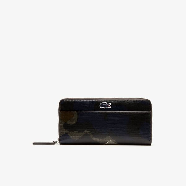 WOMEN'S ROBERT GEORGES LARGE ZIP WALLET