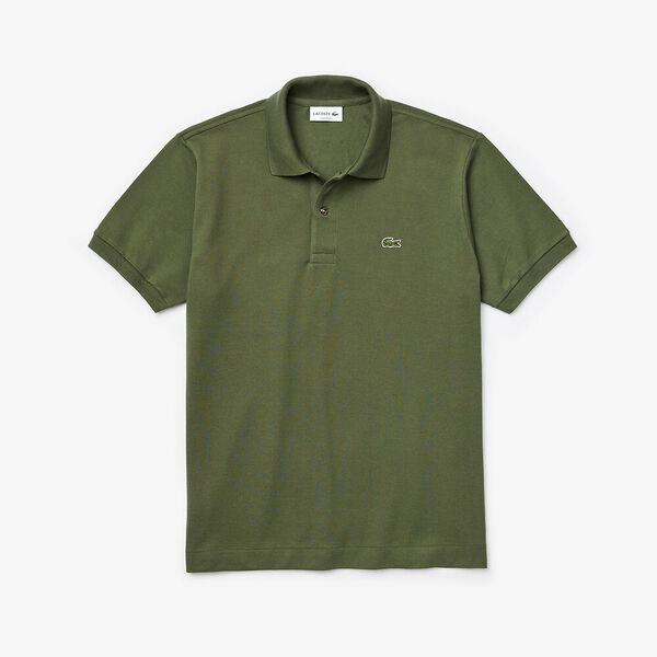 Men's L.12.12 Classic Polo, AUCUBA, hi-res