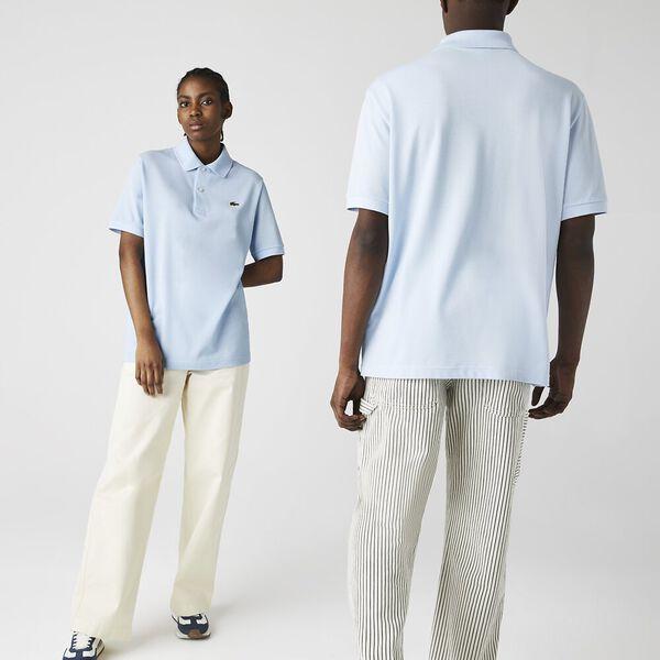 Unisex LIVE Loose Fit Cotton Piqué Polo