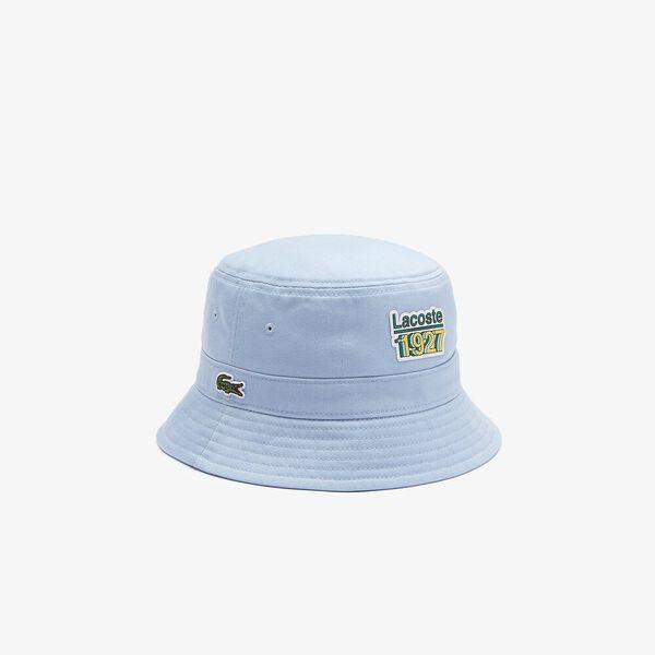 Vintage Lacoste Badge Bucket Hat