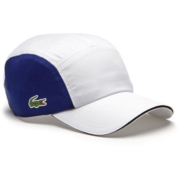 UNISEX DRY FIT 5 PANEL CAP, WHITE/OCEAN/GREEN/BLACK, hi-res