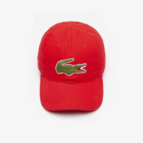 MEN'S BIG CROC CAP, RED, hi-res