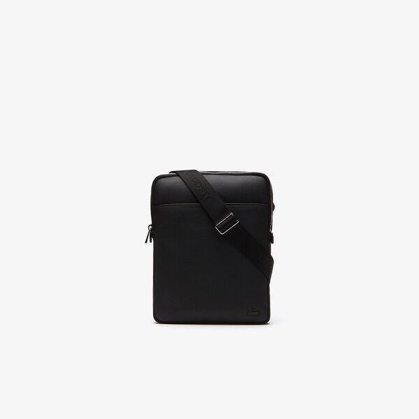 Men's Gael Medium Flat Crossover Bag, BLACK, hi-res