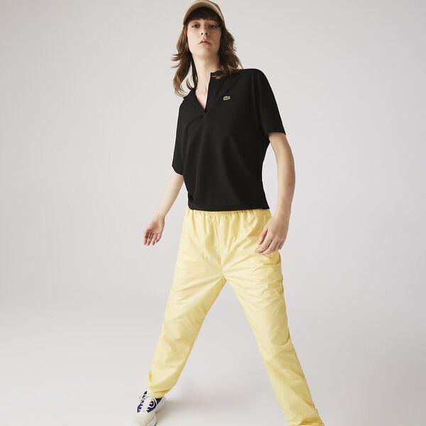 Women's Flowy Piqué Shirt